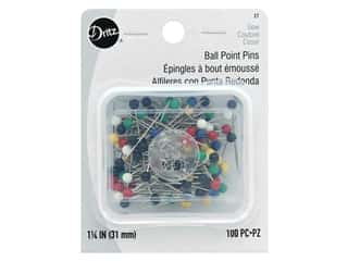 Dritz Ball Point Pins Size 20 100 pc.