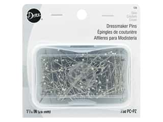 Dressmaker Pins by Dritz Size 17 Steel 750 pc.
