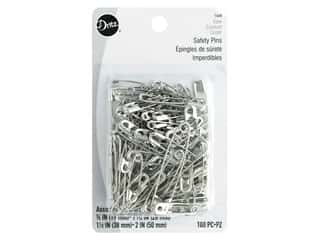 Dritz Safety Pins Bonus Pack Assorted Nickel 100 pc.