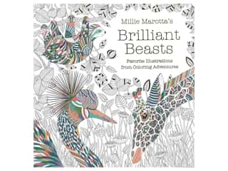 books & patterns: Lark Millie Marotta's Brilliant Beasts Book