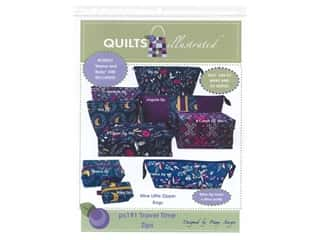 Quilts Illustrated Travel Time Zips Pattern