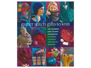 50 Garter Stitch Gifts to Knit Book