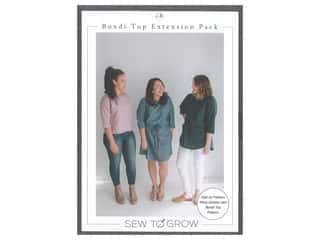 books & patterns: Sew To Grow Bondi Top Extension Pack
