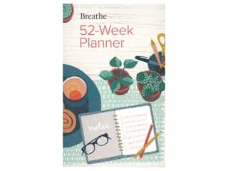 Sterling Breathe 52 Week Planner Book