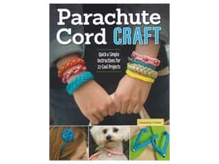 beading & jewelry making supplies: Design Originals Parachute Cord Craft Book