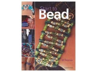 beading & jewelry making supplies: Search Press Start to Bead Book