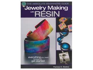 beading & jewelry making supplies: Kalmach Jewelry Making With Resin Book