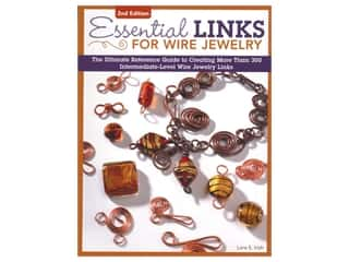 beading & jewelry making supplies: Design Originals Essential Links For Wire Jewelry 2nd Edition Book