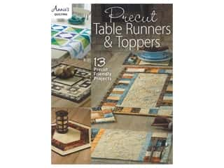 books & patterns: Annie's Precut Table Runners & Toppers Book