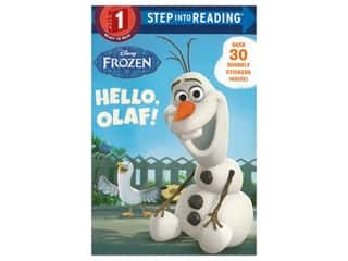 books & patterns: Random House Step Into Reading Step 1 Hello Olaf Book