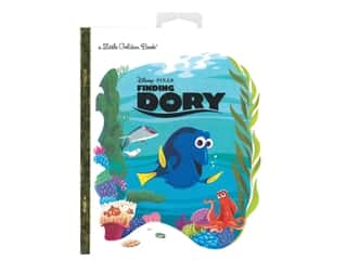 books & patterns: Golden Books Disney Finding Dory With Hang Tag Book