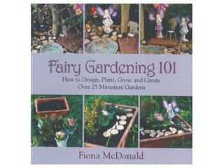 books & patterns: Skyhorse Publishing Fairy Gardening 101 Book