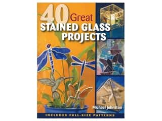 books & patterns: Stackpole 40 Great Stained Glass Projects Book