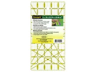 Sewing & Quilting  ruler: Omnigrid Ruler 5 x 10 in.