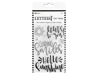 Ranger Letter It Clear Stamp Set Hello Sunshine