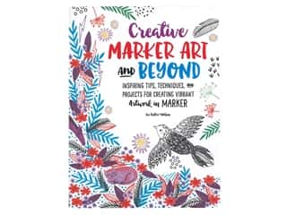 books & patterns: Walter Foster Creative Marker Art And Beyond Book