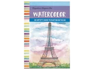 books & patterns: Walter Foster Anywhere Anytime Art Watercolor Book