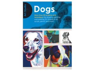 Walter Foster Art Studio Dogs Book