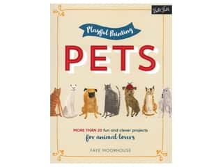 Walter Foster Playful Painting Pets Book