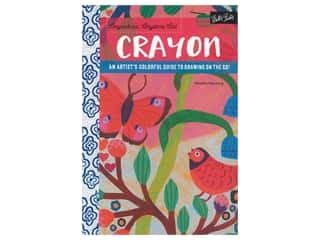 books & patterns: Walter Foster Anywhere Anytime Art Crayon Book