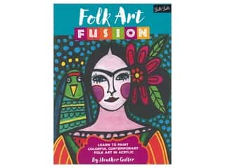 books & patterns: Walter Foster Folk Art Fusion Book