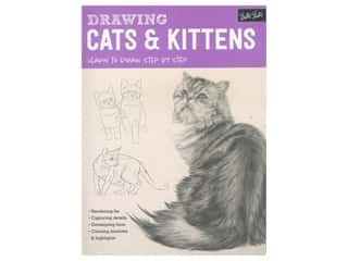 books & patterns: Walter Foster Drawing Cats & Kittens Book