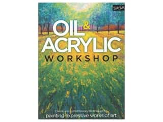 books & patterns: Walter Foster Oil & Acrylic Workshop Book