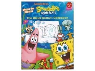 books & patterns: Walter Foster Jr. How To Draw Spongebob Squarepants Book