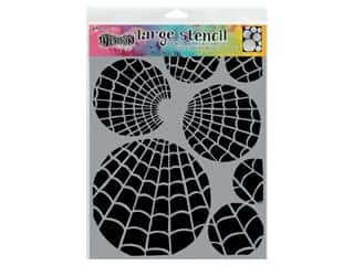 scrapbooking & paper crafts: Ranger Stencil Dylusions Large Oti's Orbs