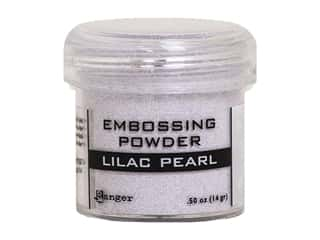 embossing ink: Ranger Embossing Powder .50 oz pearl Lilac