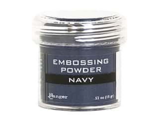 Ranger Embossing Powder .52 oz Metallic Navy
