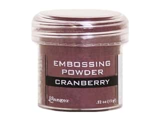 Ranger Embossing Powder .52 oz Metallic Cranberry