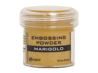 Ranger Embossing Powder .52 oz Metallic Marigold