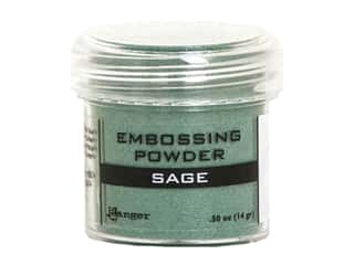 Ranger Embossing Powder .50 oz Metallic Sage