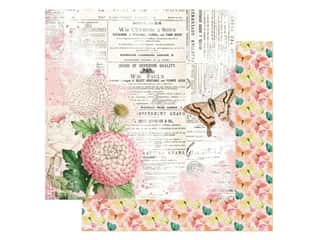 Simple Stories Collection Simple Vintage Garden District Paper 12 in. x 12 in. You Can Fly (25 pieces)