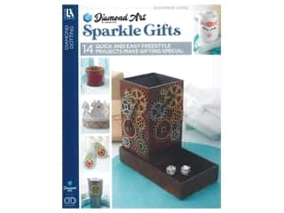 Diamond Art By Leisure Arts Freestyle Diamond Dotting Sparkle Gifts Book