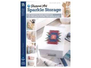 Diamond Art By Leisure Arts Freestyle Diamond Dotting Sparkle Storage Book