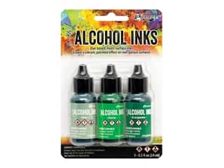 Ranger Tim Holtz Alcohol Ink Set Mint/Green Spectrum