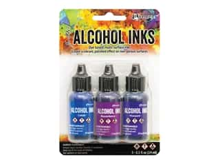 Ranger Tim Holtz Alcohol Ink Set Indigo/Violet Spectrum