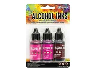 Ranger Tim Holtz Alcohol Ink Set Pink/Red Spectrum