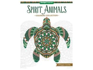 books & patterns: Spirit Animals Coloring Collection Book