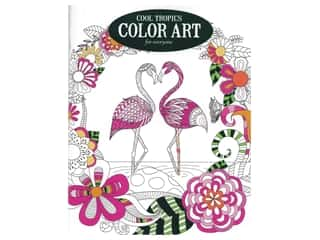books & patterns: Leisure Arts Cool Tropics Color Art For Everyone Coloring Book