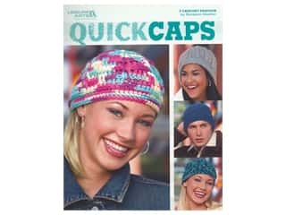 Leisure Arts Crochet Quick Caps Book