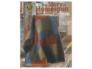 Leisure Arts The Story of Homespun Crochet Book