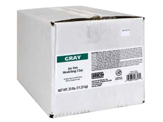 AMACO Air Dry Clay 25 lb. Gray