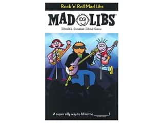 Price Stern Sloan Rock 'N' Roll Mad Libs Book