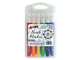 craft & hobbies: Liquimark Hand Lettering Brush Marker Set 12pc