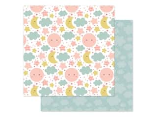 scrapbooking & paper crafts: Echo Park Baby Girl Collection Paper 12 in. x 12 in. Dream Big (25 pieces)