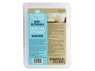 craft & hobbies: Life Of The Party Base Soap Detergent Free 2lb Buttermilk
