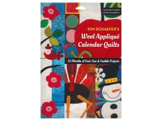 books & patterns: C&T Publishing Wool Applique Calendar Quilts Book